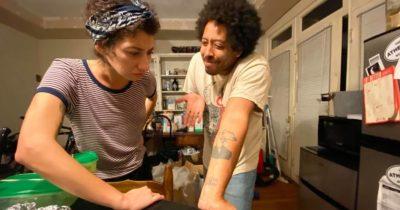 screeching weasel, tattoo, arm, punk, shame, fear, permanent