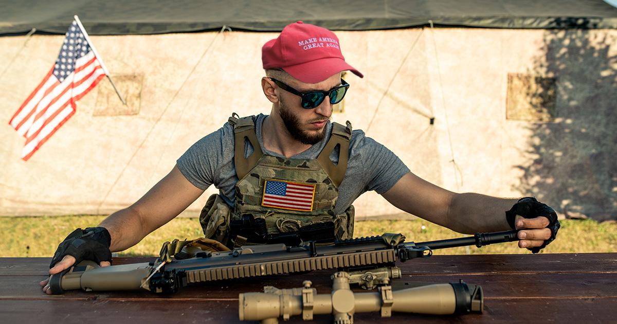 maga, patriot, self defense
