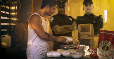 defund, police, cocaine, flour, plant, drugs