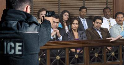 suits, tie, gun, shoot, jury, courthouse, dress, fancy, formal, slap, hurt