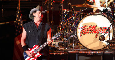 ted nugent, voter suppression, right wing,