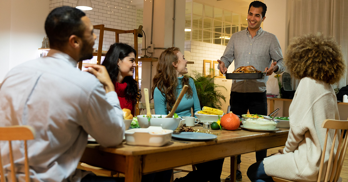 Friendsgiving Gathering Limited to Five People Reveals True Hierarchy of Social Group