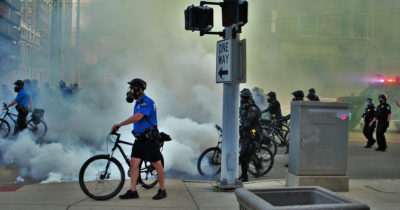 police, tear gas, civil rights