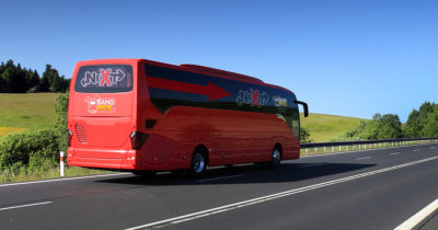bus, red, double decker, cross country, road, highway, date, first date, bangbus, sex