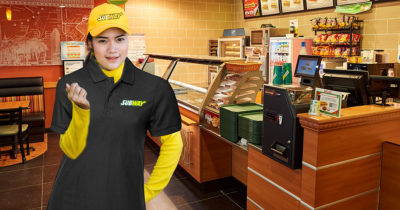 subway, yellow, black, dirty, hat, girl, young, harassment, weird, scary, uncomfortable