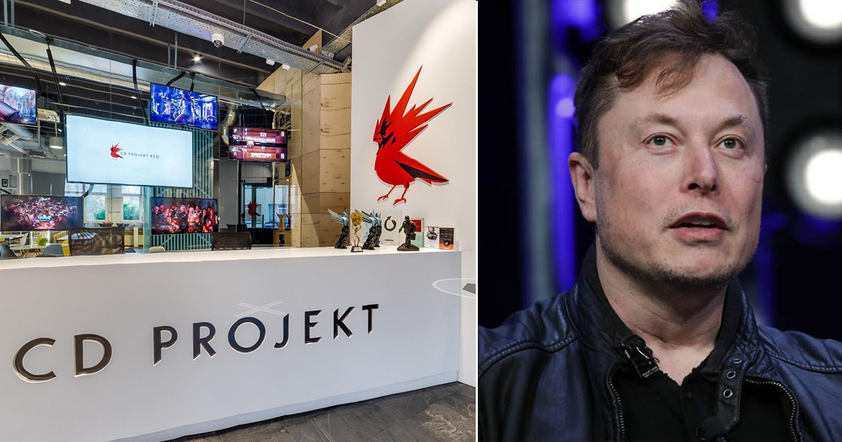 CD Projekt Red Hires Elon Musk to Oversee All Future Failed Launches