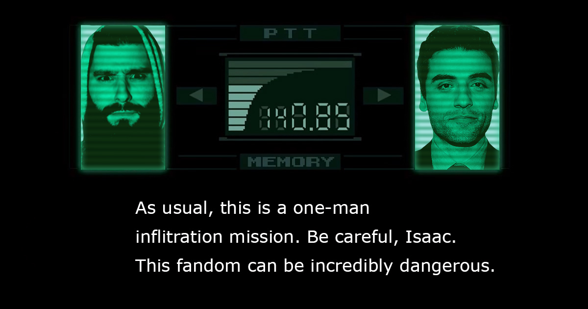 Oscar Isaac Receives News Of Solid Snake Casting Via Two-Hour Codec Call