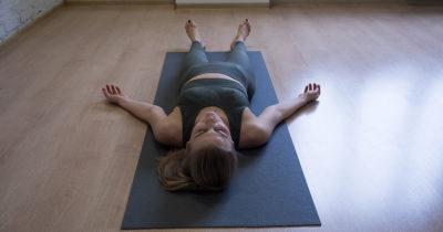 lay down, sleep, meditation, peaceful, mat, yoga, girl, brunette, tired, sleepy, inner peace, chakras, align