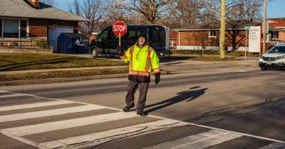 acab, cop, crossing guard