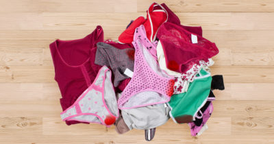 blood, gross, natural, normal, underwear, bleed, period, menstruate, woman, stained, washing machine, pink, girl
