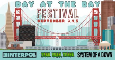 festival, lame, weird, music, sad, poster, yeah yeah yeahs, system of a down, interpol, weird, loser, bridge, california, golden gate, lame, covid, quarantine, isolation, crowd, gathering