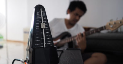 tick, click, count, timer, timing, swing, bpm, beats per minute, guitar, play, practice, record, suck, bad, sad, annoying, realistic, off time, off tempo, bad