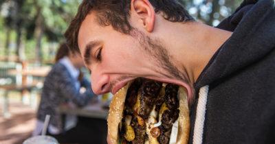 jaw, unhinged, burger