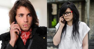 emo, singer, girlfriend, voicemail