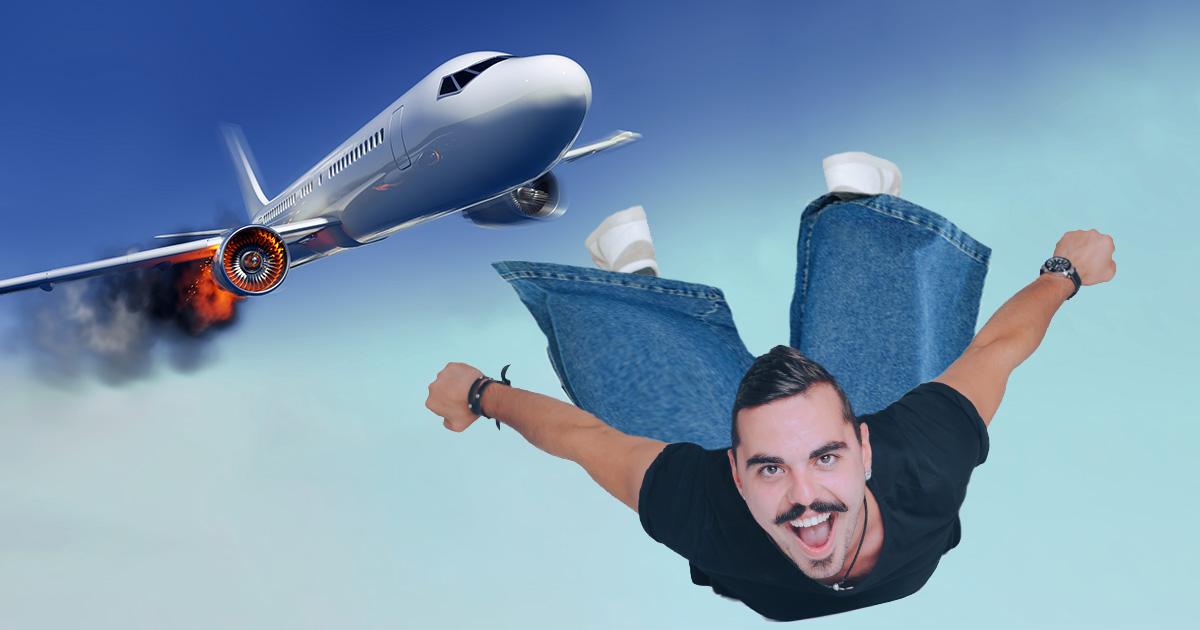 jnco, plane crash, parachute