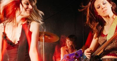 female, band, death threats