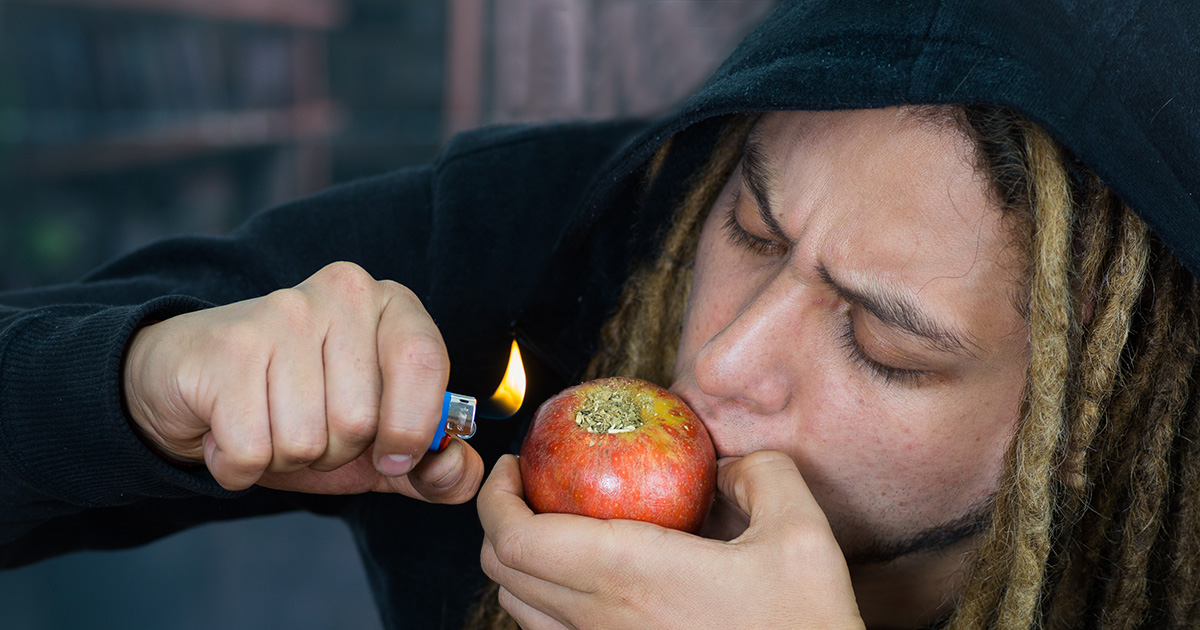 apple, pipe, fruit