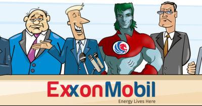 captain planet, exxon, oil