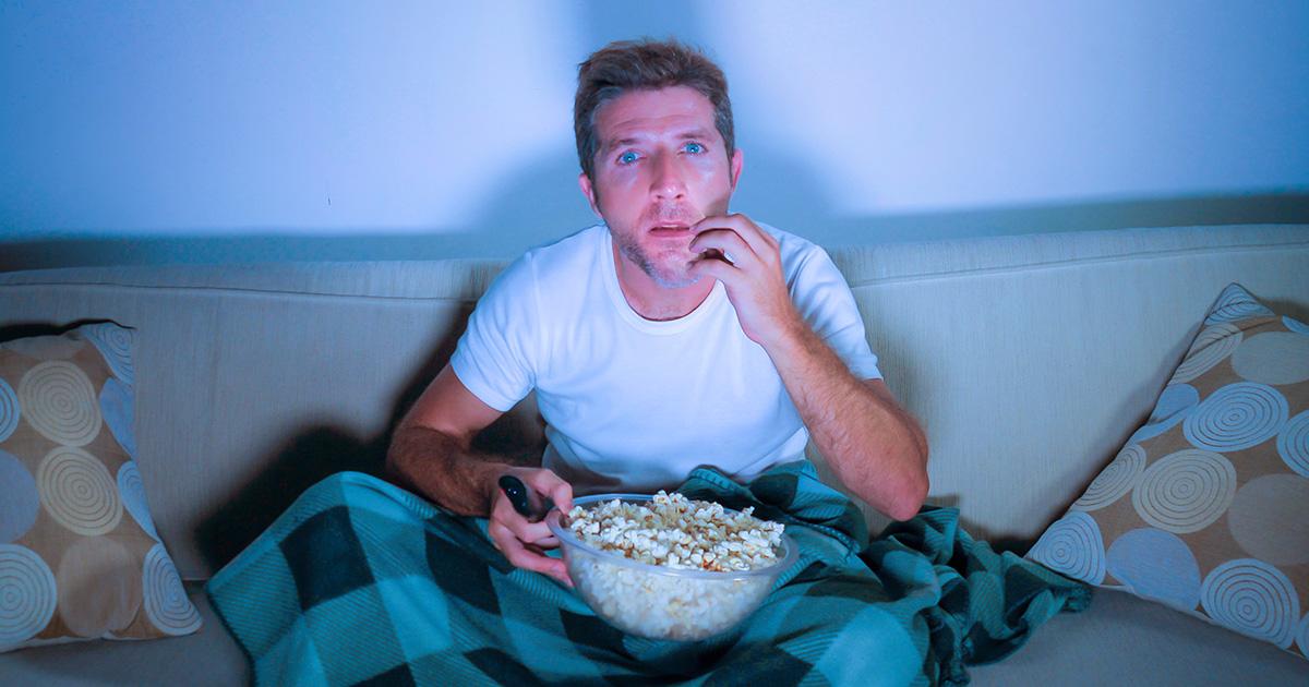 roommate, sniffs, popcorn