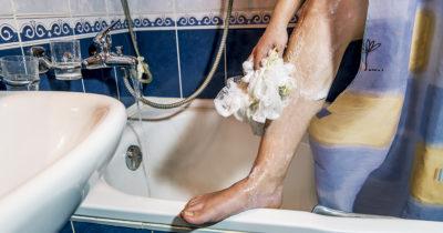 shower curtain, lef, intimacy