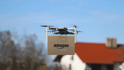 amazon, drone, fired