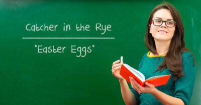 easter eggs, english, teacher
