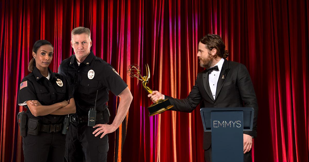 emmys, police, editing